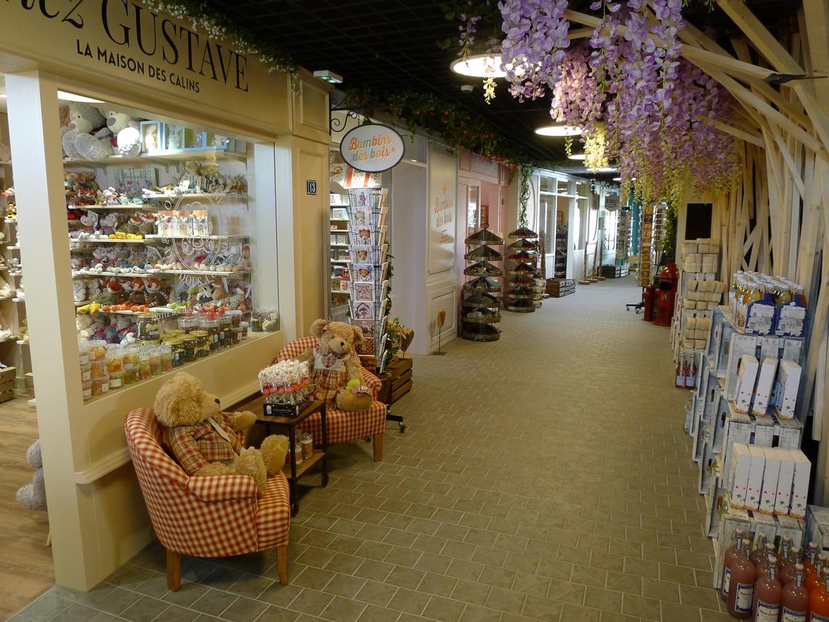 Village du bois Agencement magasin exceptionnel Jura