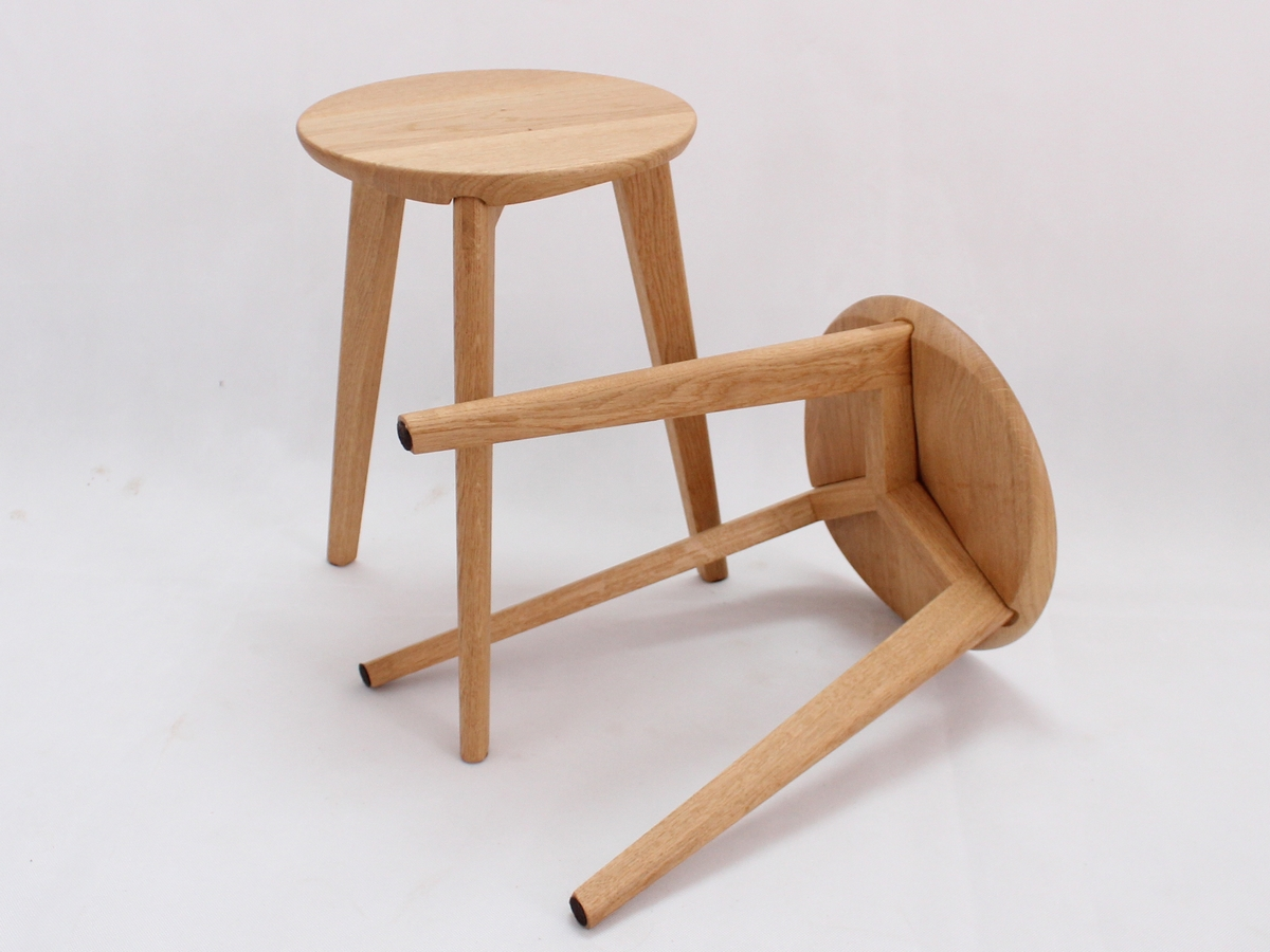 Tabouret en bois Made in France fait main